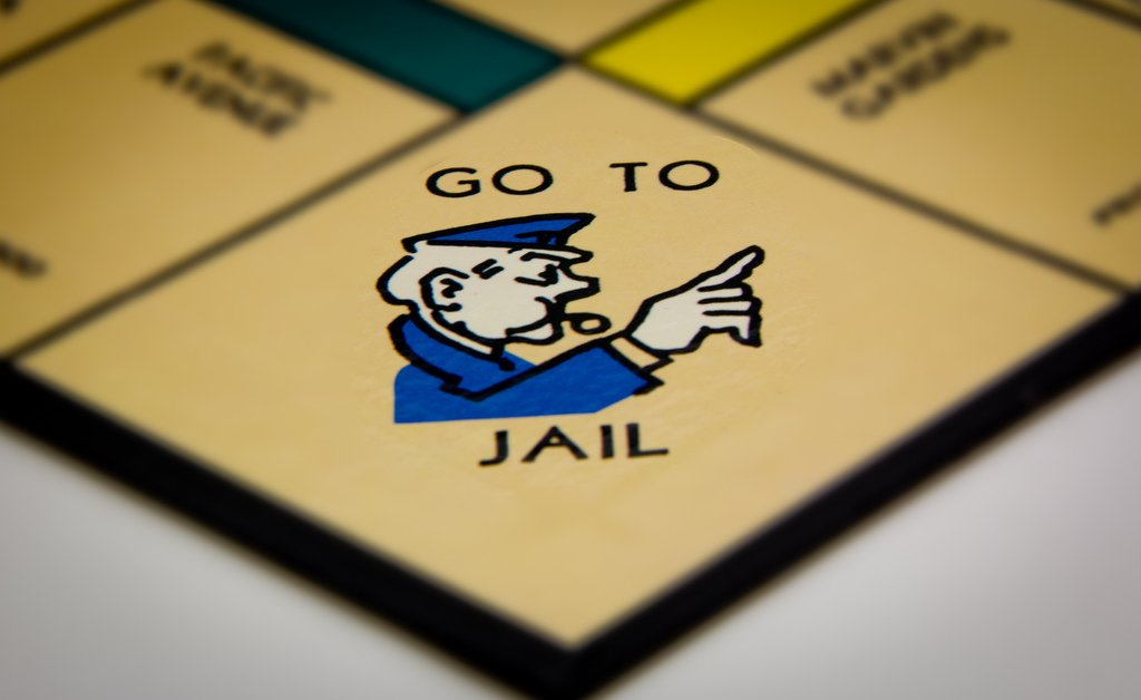Go To Jail Monopoly - Teen Rehab