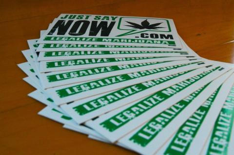 Legalize Marijuana Stickers - Teen Rehab