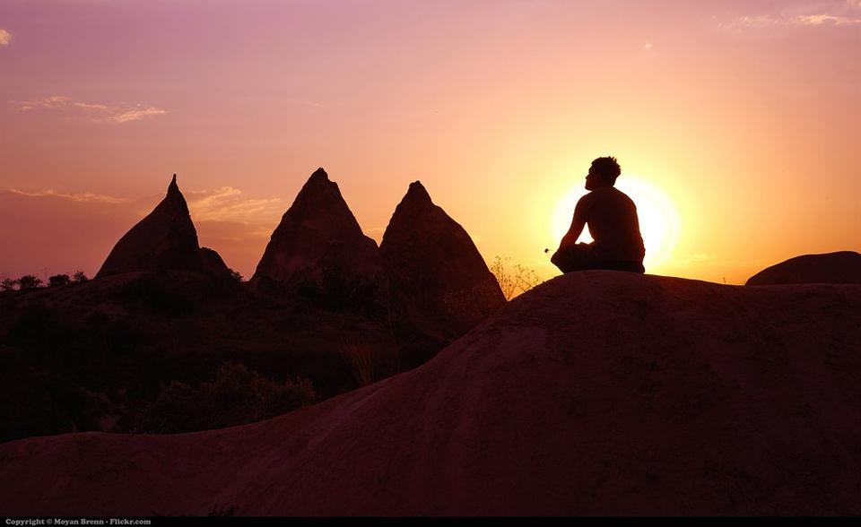 Teen Meditating Sunset - Teen Rehab