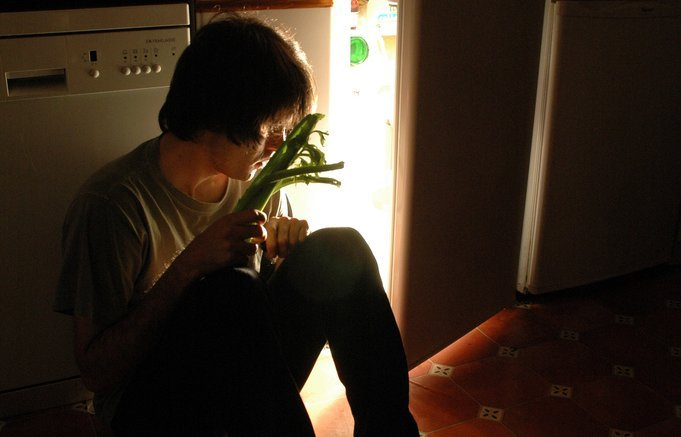 Boy Sitting in Kitchen - Teen Rehab