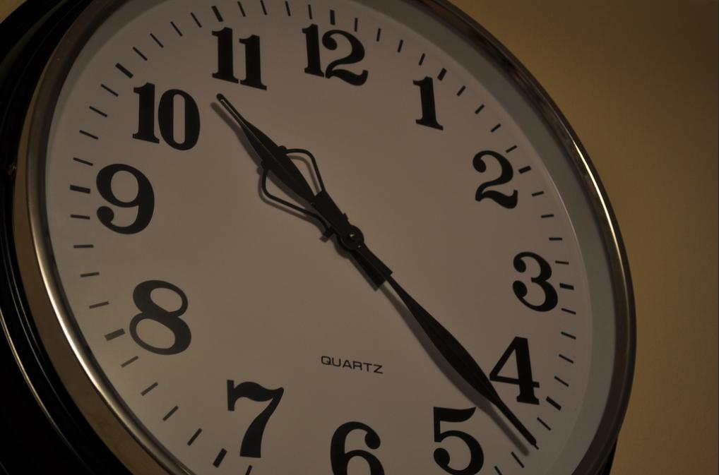 Clock On Wall - Teen Rehab