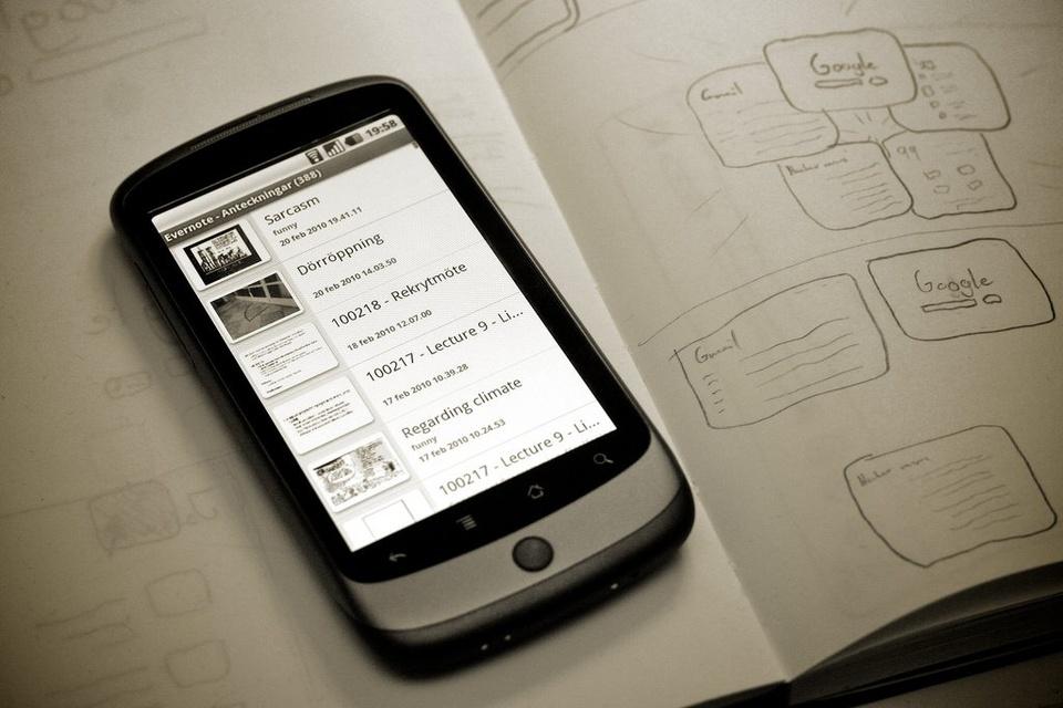 Evernote App - Teen Rehab