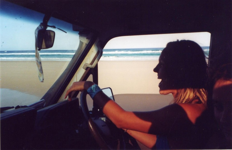 Girl Driving On Beach - Teen Rehab