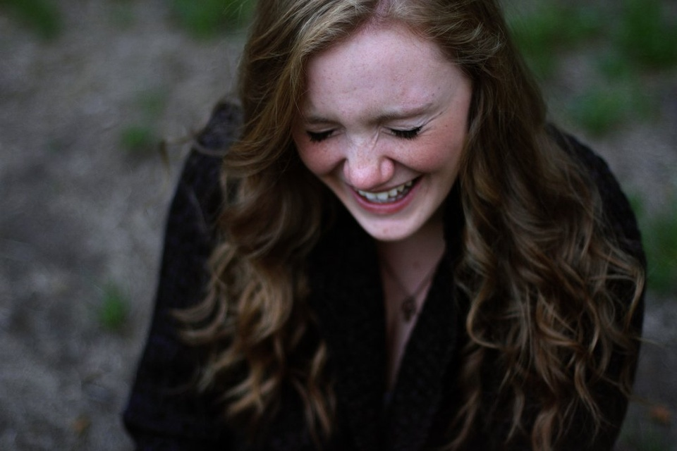 Girl Laughing To Herself - Teen Rehab