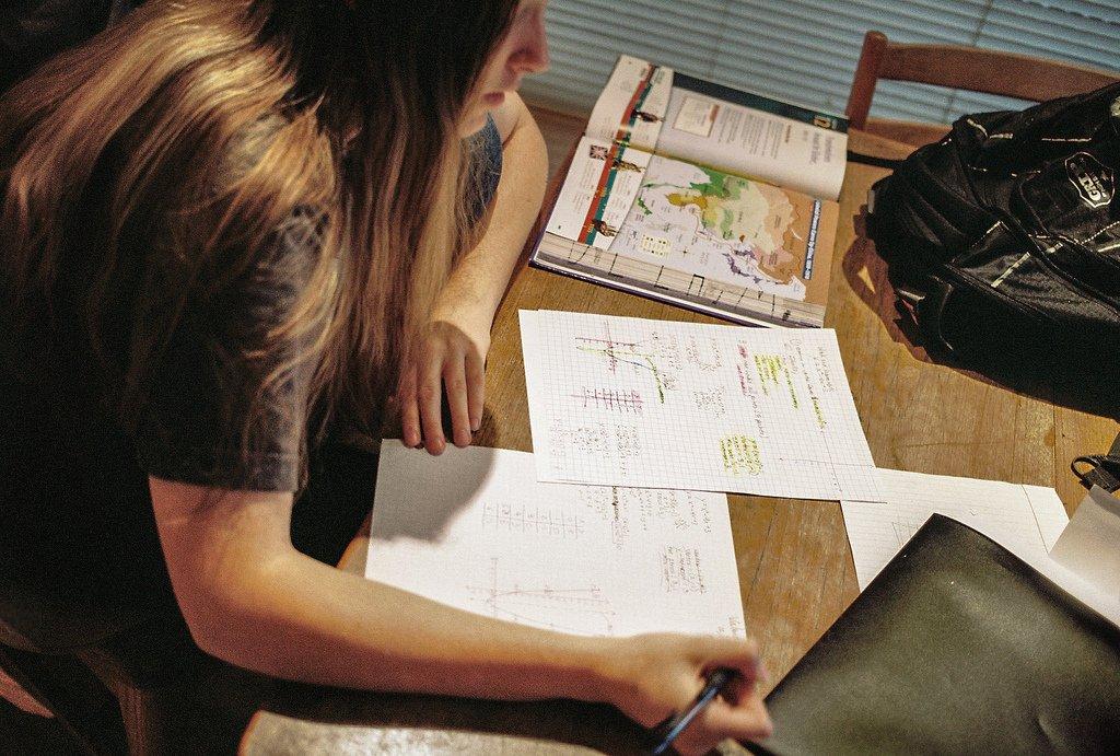 Girl Studying - Teen Rehab