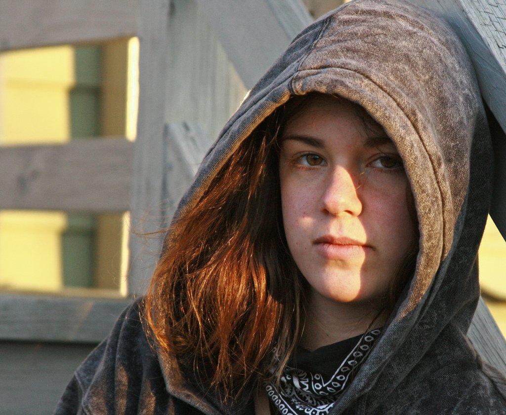 Girl With Hoodie - Teen Rehab