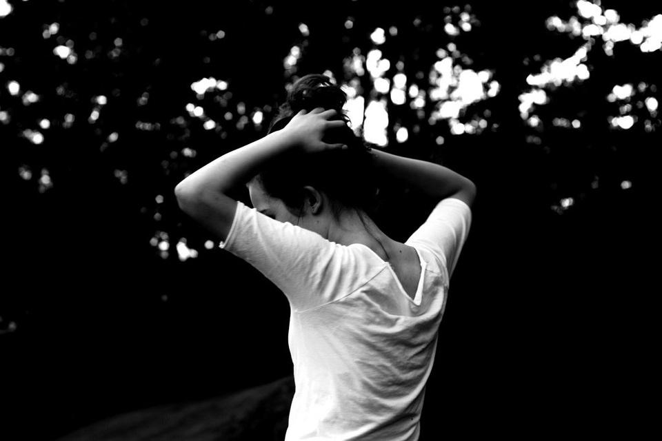 Girl with Hands on Head - Teen Rehab