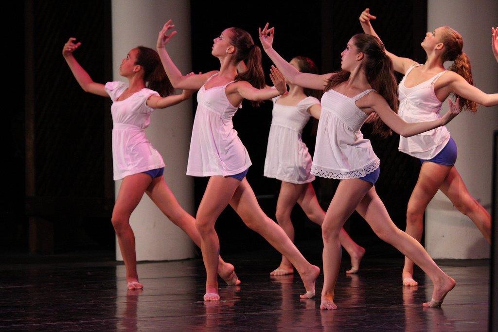 Girls Doing Ballet - Teen Rehab