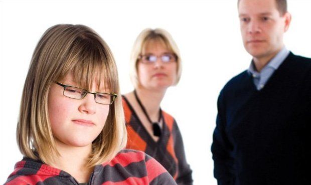 Parents Disciplining Girl - Teen Rehab