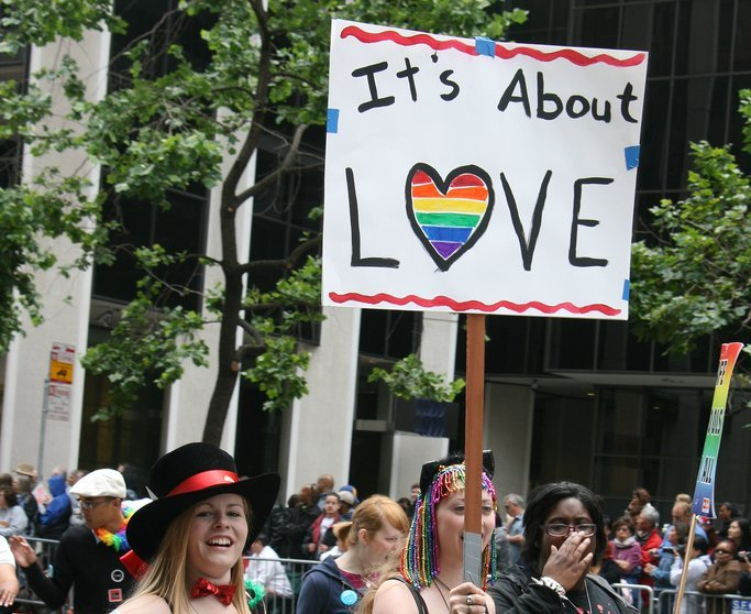Pride Parade Sign - Teen Rehab