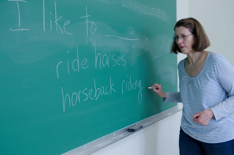 Teacher In Classroom - Teen Rehab