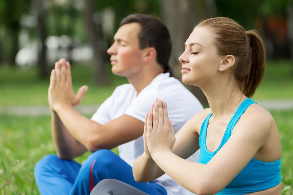 Teen Couple Meditating - Teen Rehab
