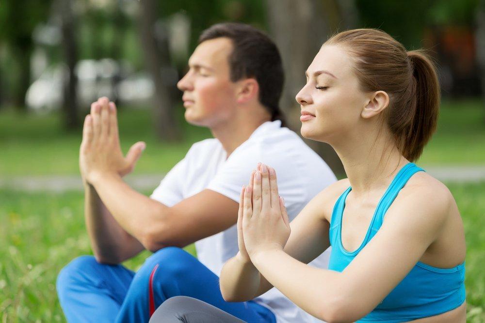 Teen Couple Meditating - Teen Rehab