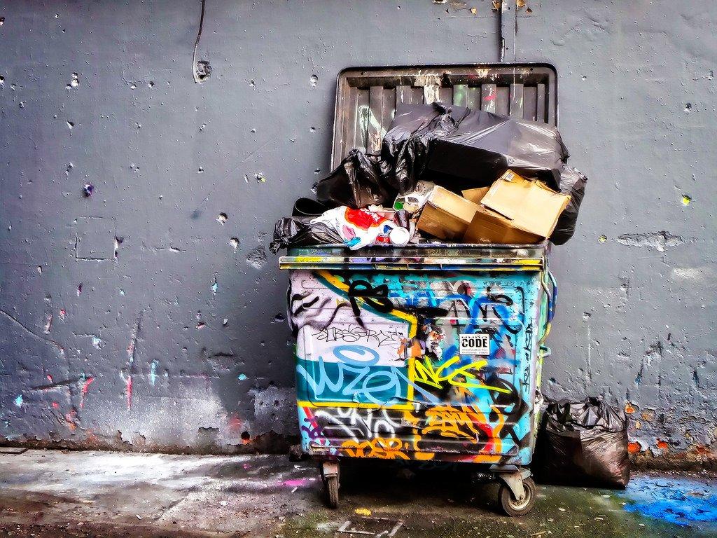 Trash Bin - Teen Rehab