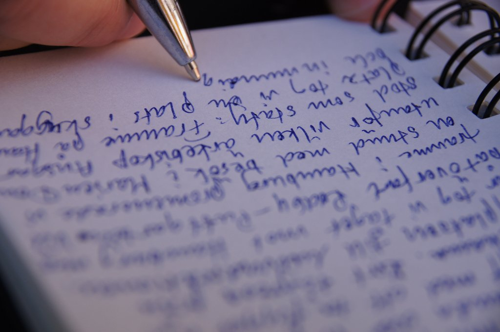Writing in Journal - Teen Rehab