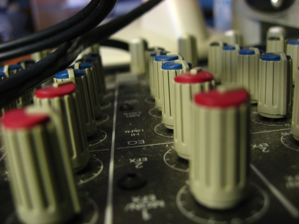 Mixing Console - Teen Rehab