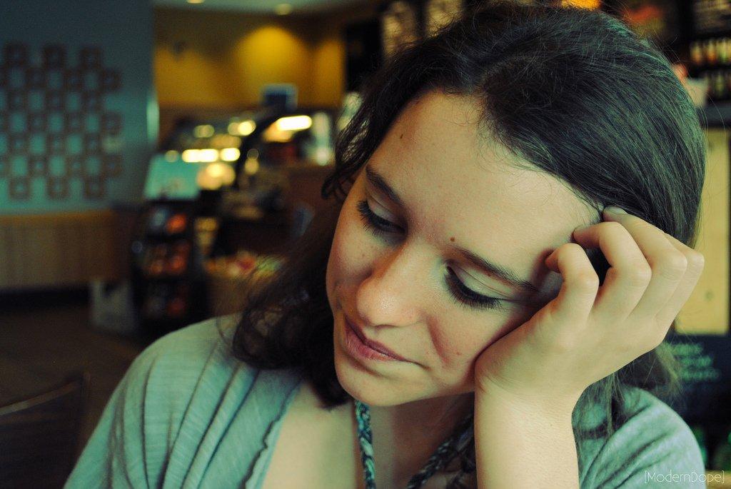 Teenage Girl In Coffeeshop - Teen Rehab