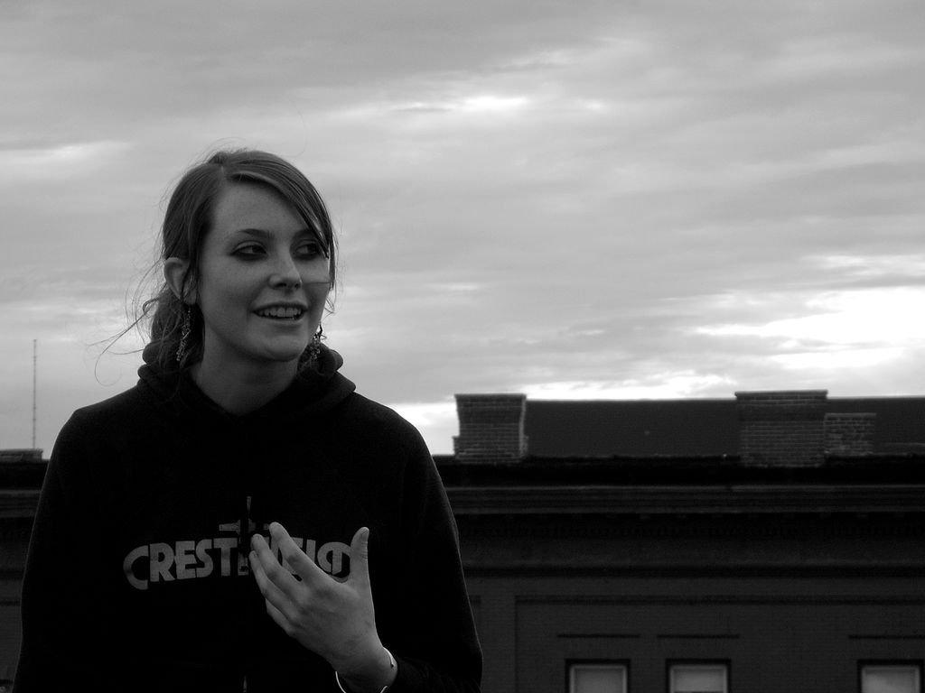 Teenage Girl On Rooftop - Teen Rehab