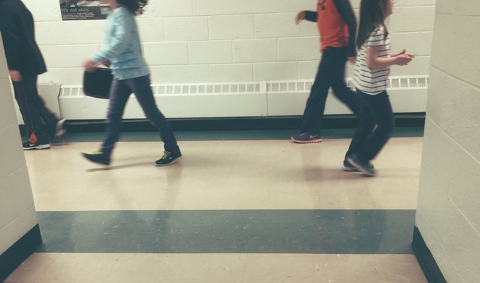 Teens In School Hallway - Teen Rehab