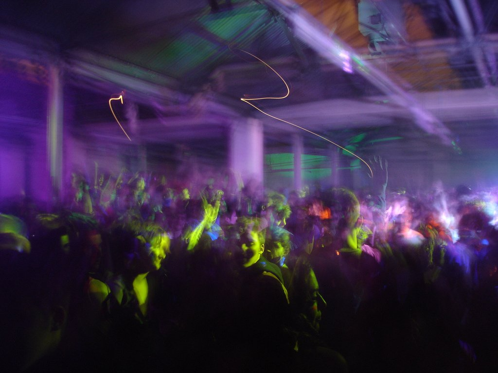 Blurred Image Dance Floor - Teen Rehab