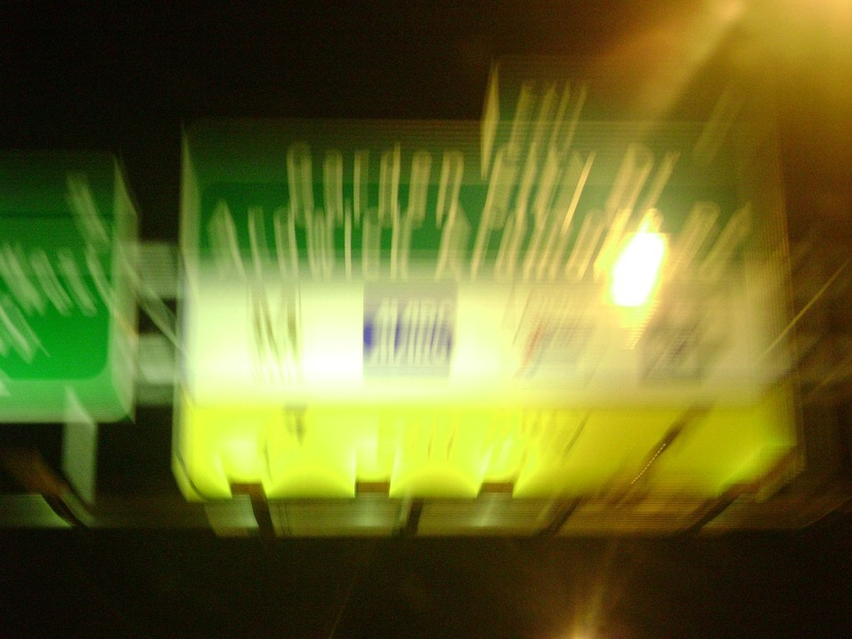 Blurry Traffic Sign - Teen Rehab
