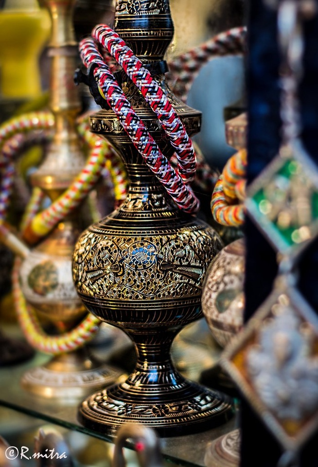 Closeup Of Gold Black Hookah - Teen Rehab