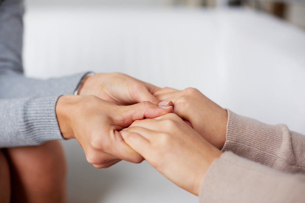 Humans Holding Hands - Teen Rehab