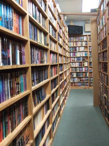Shelves With Books - Teen Rehab
