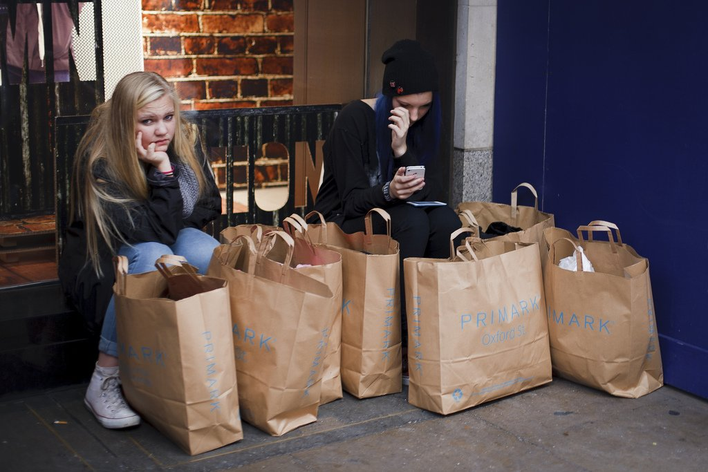 Teen Girls With Grocery Bags - Teen Rehab