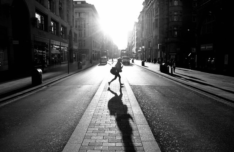 Teen Walking Across Street In Sunlight - Teen Rehab