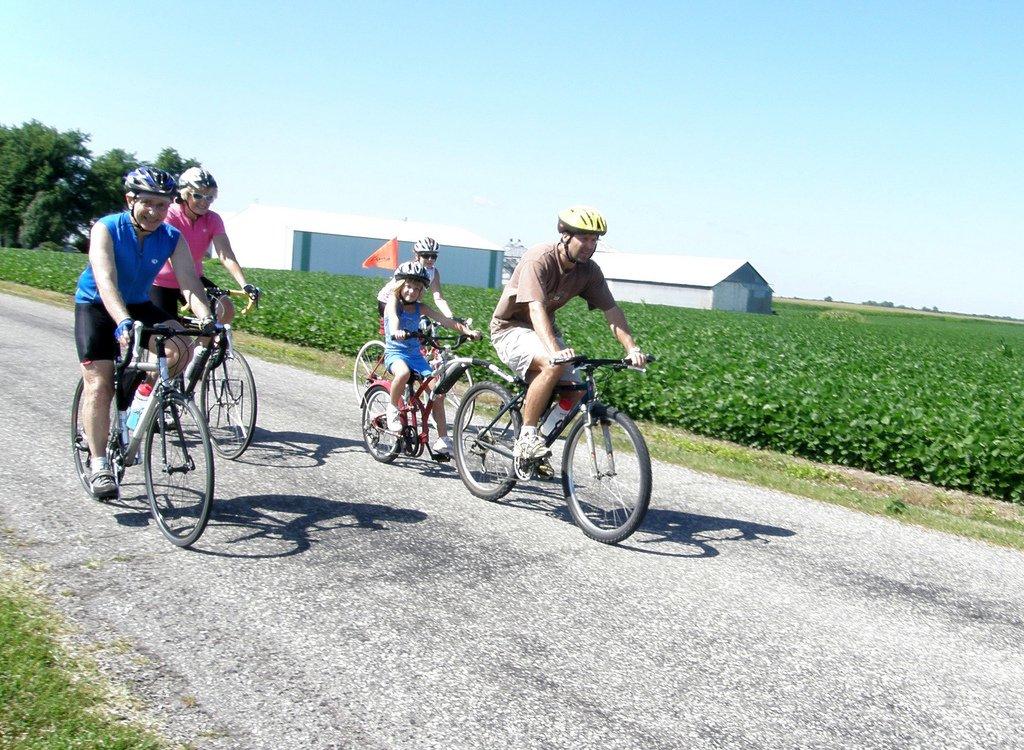 Family Biking - Teen Rehab