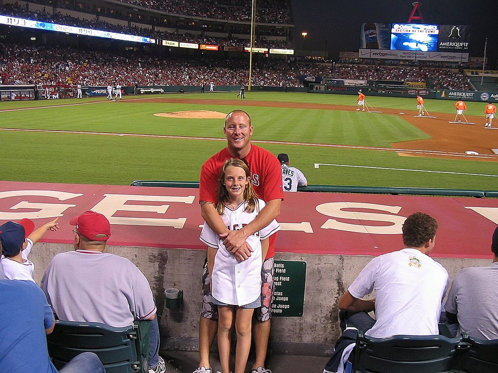 Father Daughter At Baseball - Teen Rehab