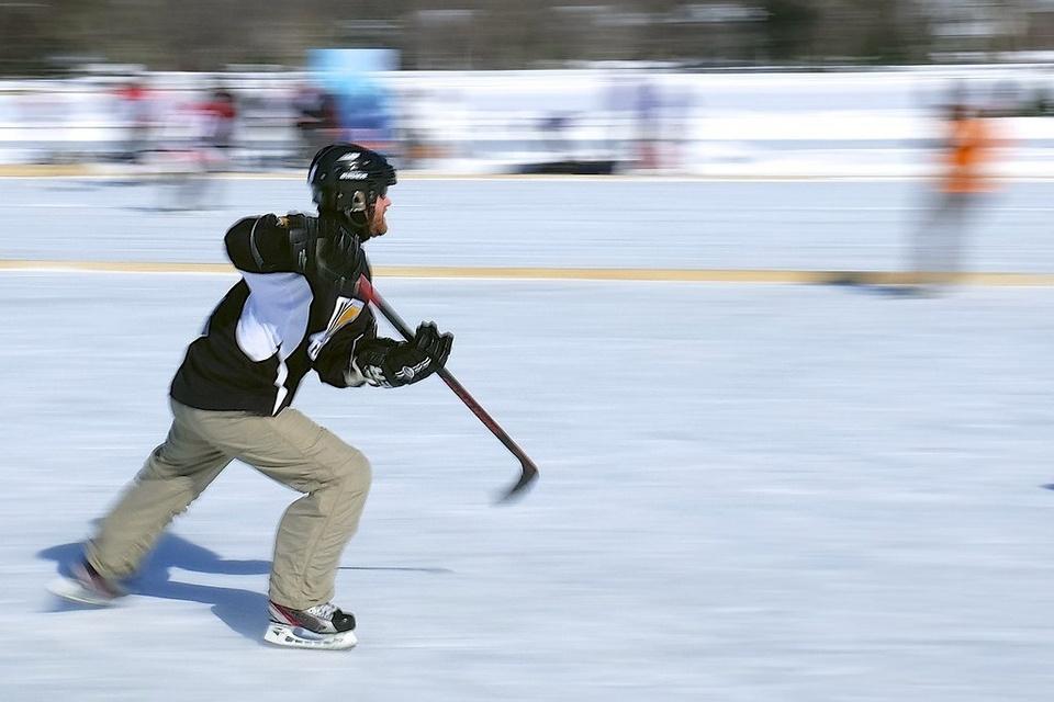 Hockey Player - Teen Rehab