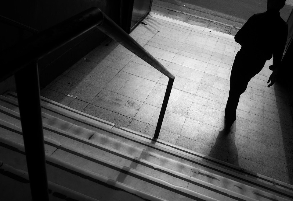 Man Walking Down The Stairs - Teen Rehab