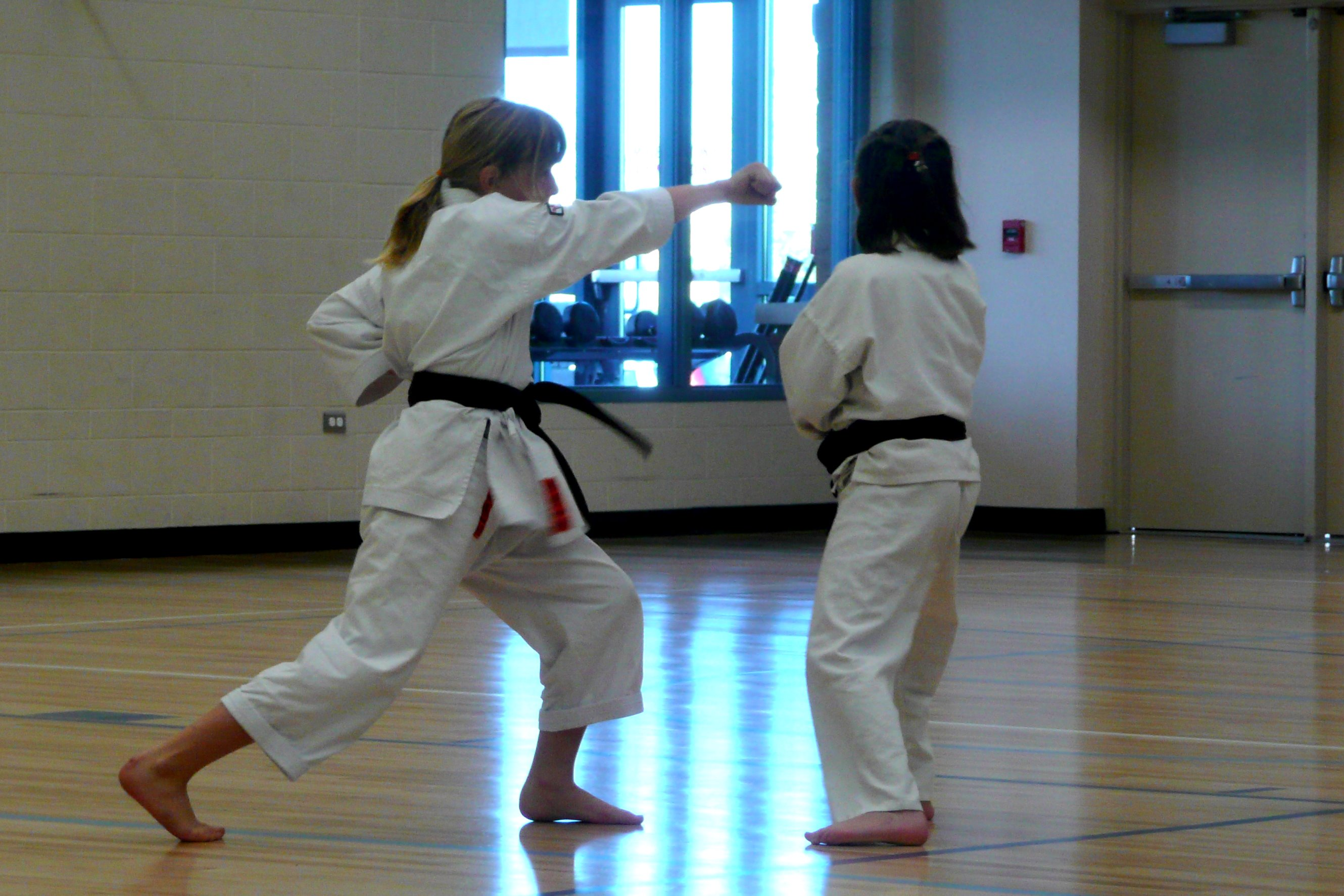 Karate Test Kumite - Teen Rehab