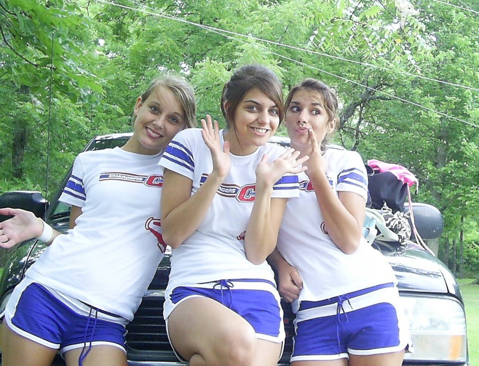 Teenage Girls Posing - Teen Rehab