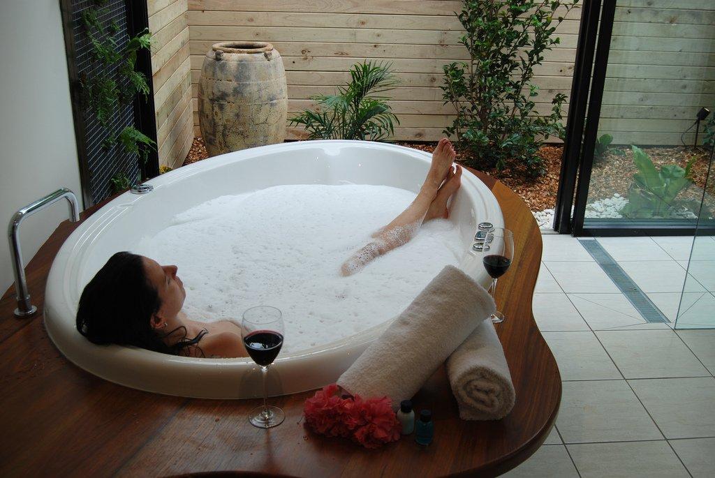 Girl in Bath - Teen Rehab