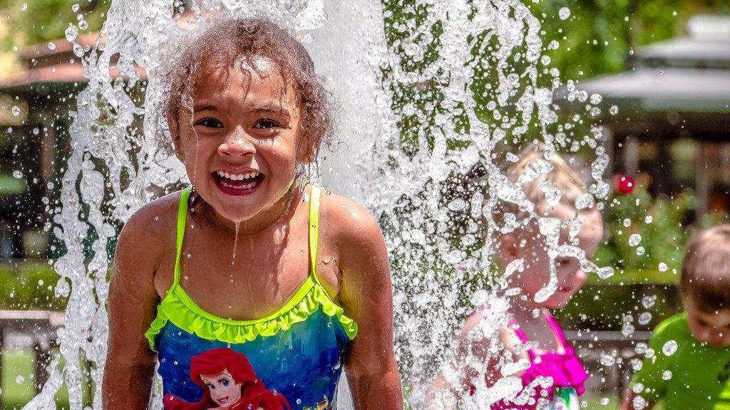Little Girl at Water Park - Teen Rehab