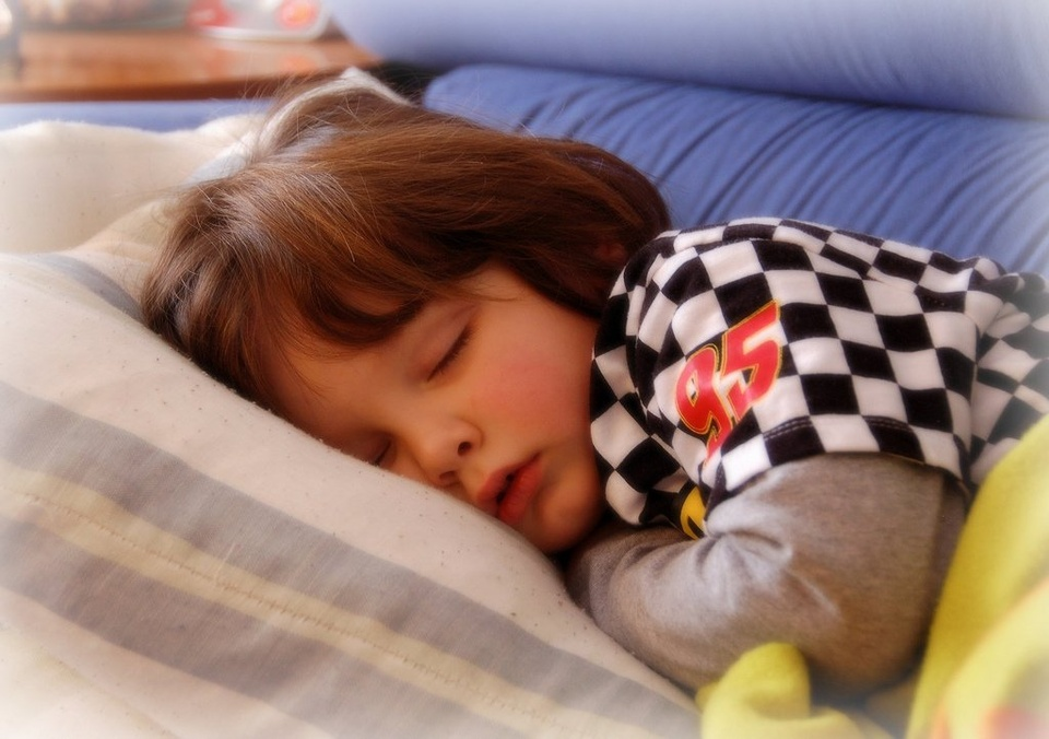 Toddler Snoozin - Teen Rehab
