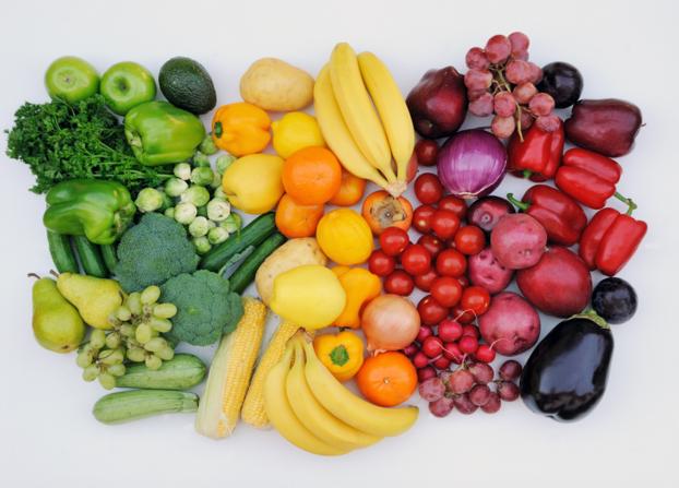 food fruits vegetables