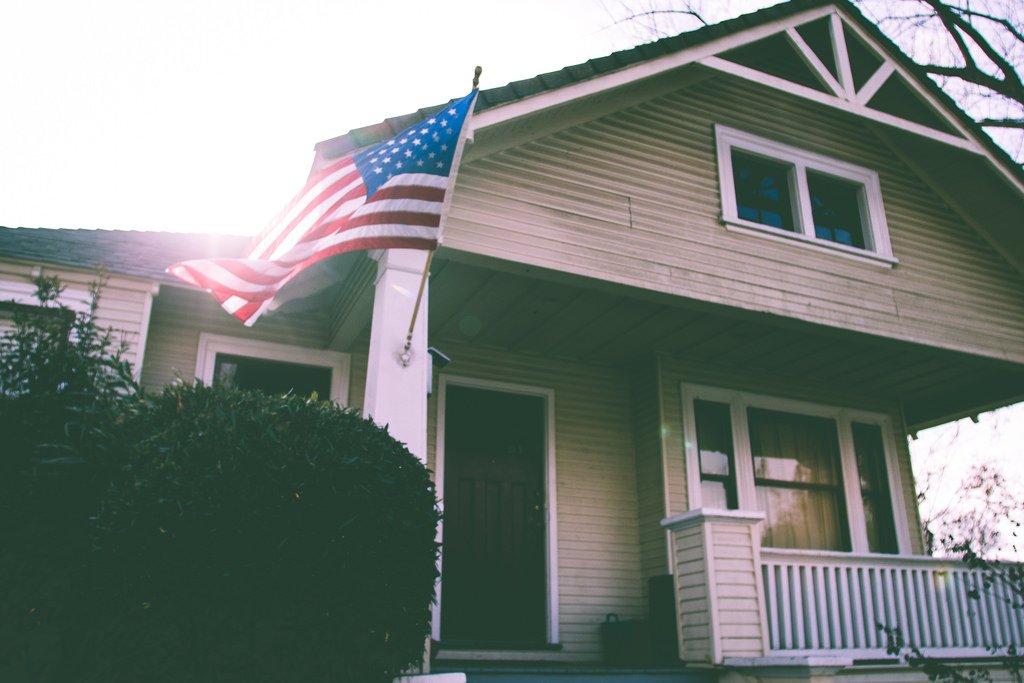 house home america american usa us flag