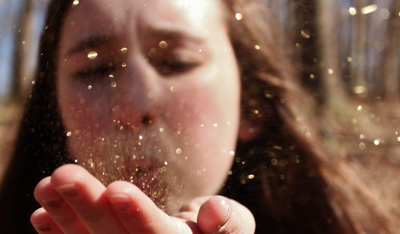 sparkle glitter girl