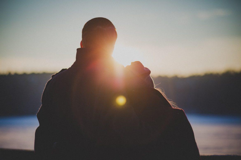 outdoor sun people couple