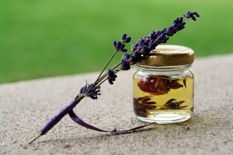aromatherapy oil flower