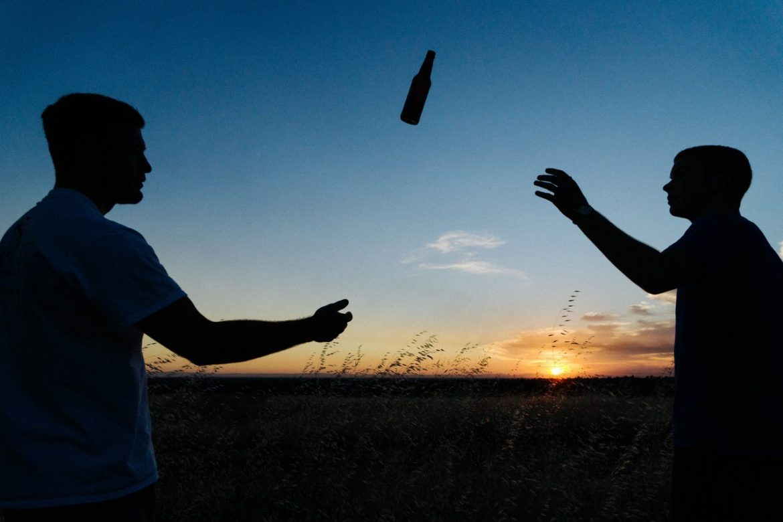 boys teens alcohol beer bottle sky