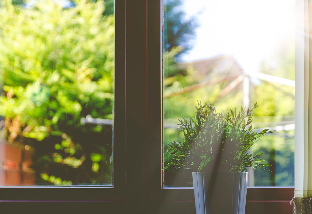 window sill with daylight