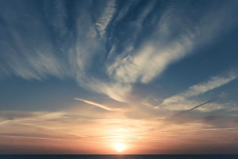 sun sunset sky
