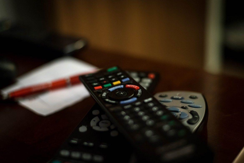 remote control television tv