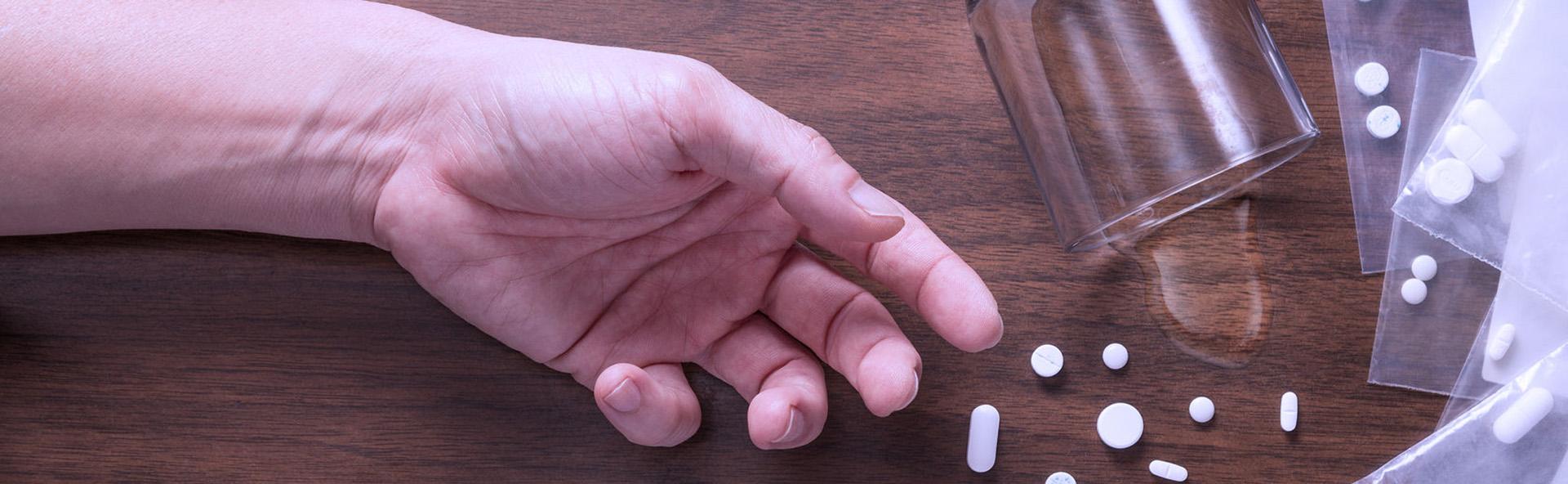Teen Rehab - Drug Overdose - Spilled Pills