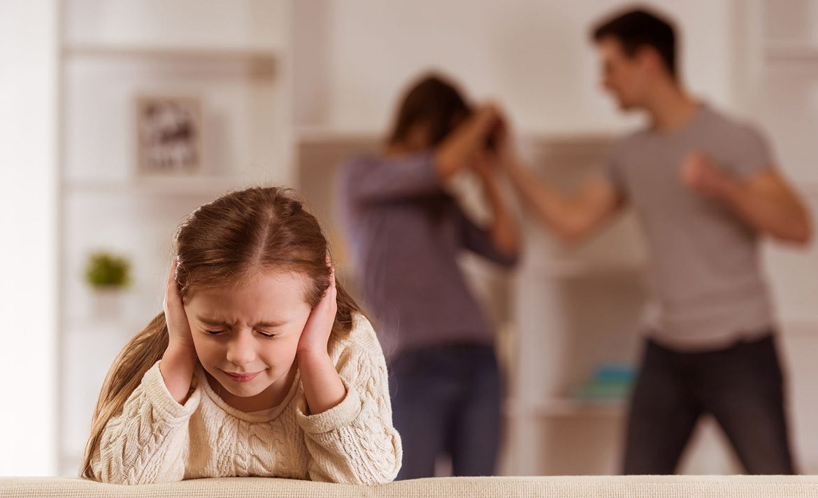 Teen Rehab - Types of Trauma - car accident - child suffering from quarrels